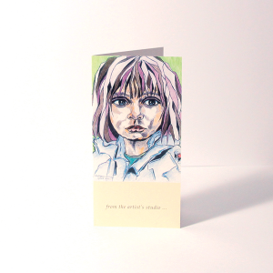 Young-Girl-Sketch-DL-Card